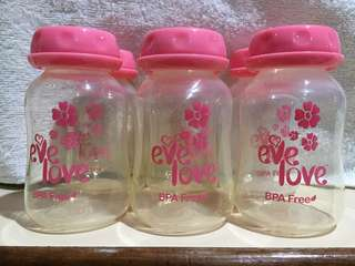 Baby Bottles for Storage