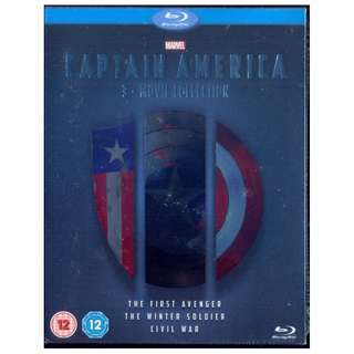 Captain America 3 Movie Collection - New Blu-Ray