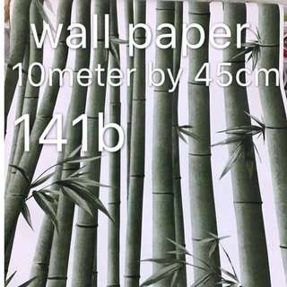 Bamboo Wallpaper Self Adhesive C141B