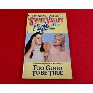 Sweet Valley High: Too Good To Be True
