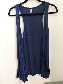 Slim long vest