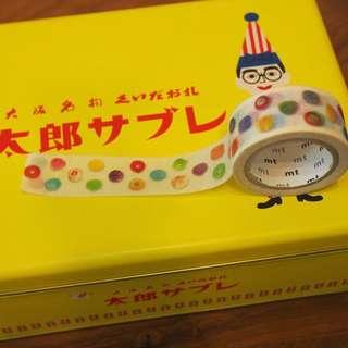 日本和紙膠帶masking tape mt展寶石