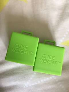 Cube weights
