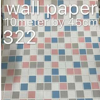 Tiled Designe Wallpaper Self Adhesive C322