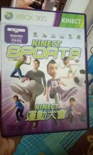 Xbox 360 Game Kinect sports pre-owned