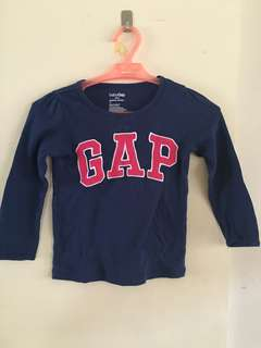 Navy blue-shirt longsleeves