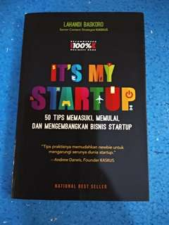 Its My Startup by Lahandi Baskoro