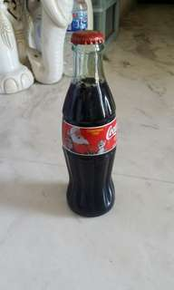 Coca cola bottles for collection