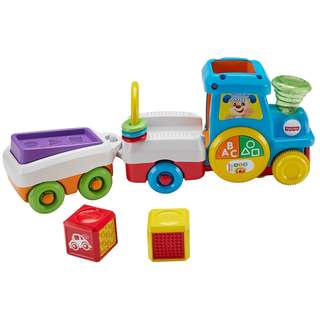 Fisher Price FFN34 Laugh & Learn First Words Crawl-Along Train