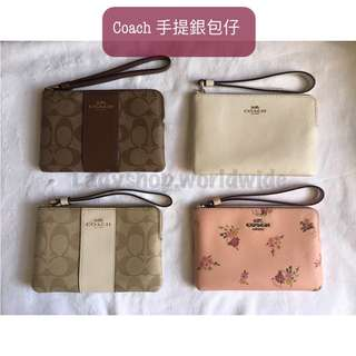 Coach 手提銀包仔 wallet/ clutch /coins bag