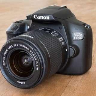 Camera Slr Canon 1300D Wifi Bisa di cicil tanpa kartu credit (nikon,)