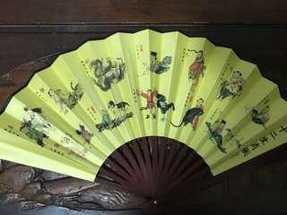 中國風古扇