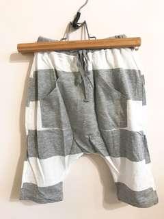 正韓條紋飛鼠褲