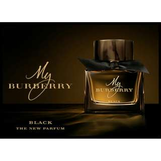 100% AUTHENTIC Burberry Perfume black (miniature) Limited.