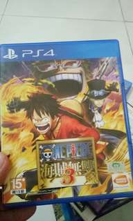 One piece Pirate warriors 3 Chinese pre-owned