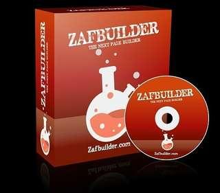 Miliki Zafbuilder Tools Sekarang Juga Bikin Landing Page/Sales Page Tanpa Harus Sewa Hosting dan Domain