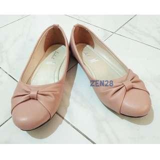 #paydaymaret Sepatu Flat Shoes Peach Pink #SuperDeal