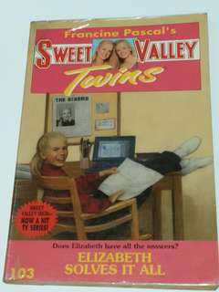 Sweet Valley Twins: Elizabeth Solves It All