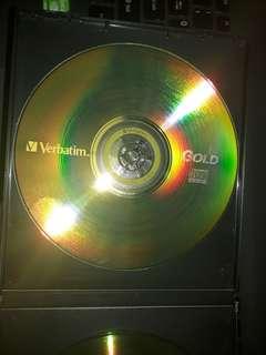 10 Verbatim CD-R