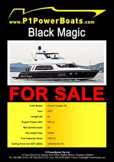 Carver Voyager 56 (Black Magic)