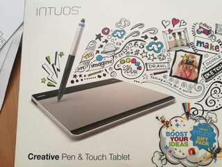 Intros creative pen & touch pad