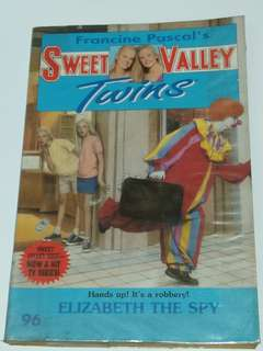 Sweet Valley Twins: Elizabeth the Spy