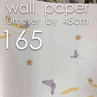 Butterfly Designe Wallpaper Self Adhesive C165