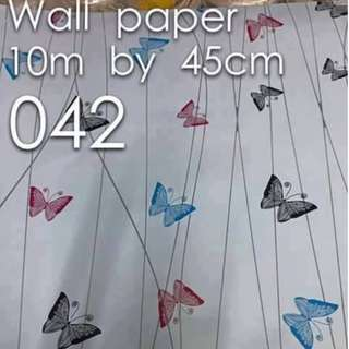 Butterfly Designe Wallpaper Self Adhesive C042