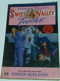 Sweet Valley Twins: Steven Gets Even