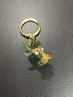 Usj key chain dark green