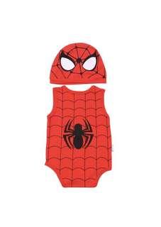 (PO) Brand New Cute Baby Set (Spiderman)