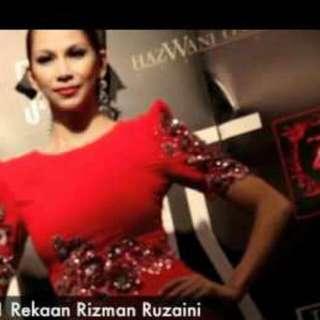 Rizman Ruzaini Dress