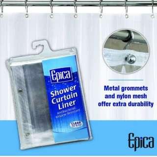 Shower Curtain Liner, Strongest Mildew Resistant