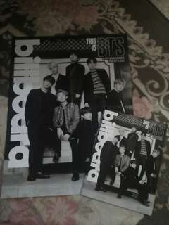 [CLEARANCE SALES] Billboard Magazine + Poster GROUP BTS