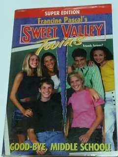 Sweet Valley Twins: Good-bye, Middle School!