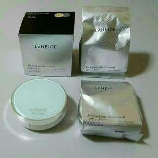 Laneige BB Cushion [Pore Control] (No. 13 True Beige) + 2 Refills