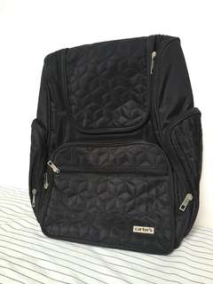 Carter's Stitched Backpack Diaper Bag w/ Changing Pad