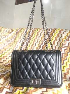 REPRICED!!! Preloved Chanel inspired bag