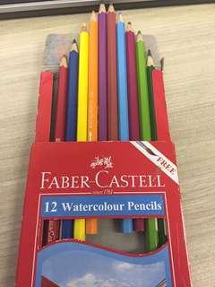Pensil warna panjang