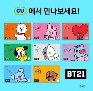 BT21 T-MONEY CARD