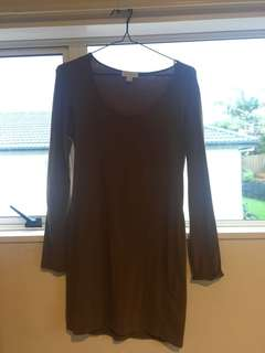 Brown Witchery Dress