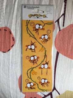 馬騮仔貼紙 Monkey Stickers