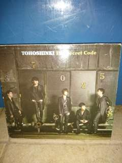 Cd tohoshinki the secrer code original