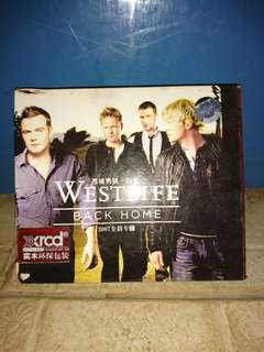 Cd westlife back home 2007 original import