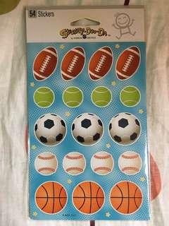 球類貼紙 Ball Stickers