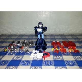 Megaman Figure Changeable Parts