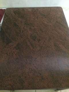 大理石鐵架桌