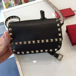 Valentino rock stud belt bag 腰包