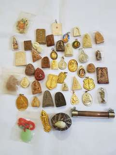 Thai amulets lot sales