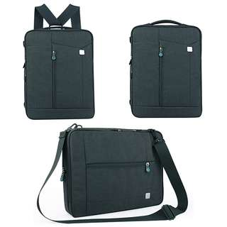 Miracase 3 in 1 Convertible Backpack/Shoulder/Messenger Bag M-8068 GREY
